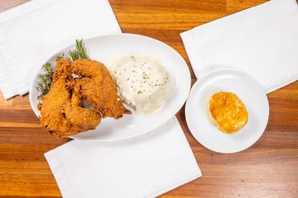 Half Fried Chicken