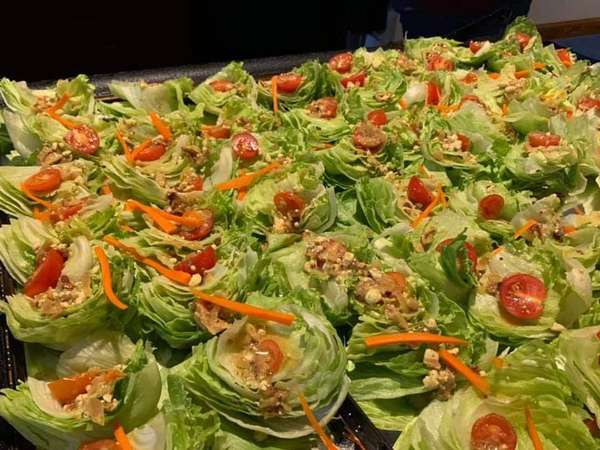 catering wedge salad
