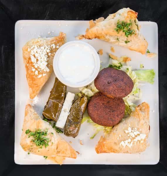 Vegetarian Combo Dinner