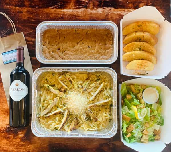 Mediterranean Pasta Family Meal