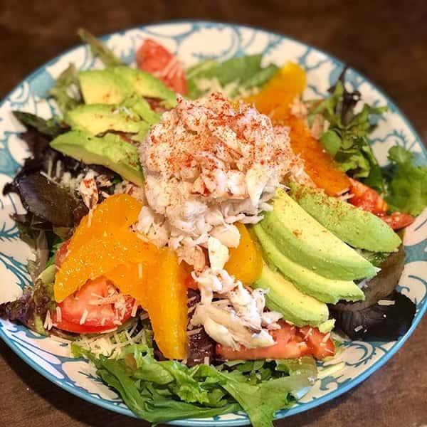 Dungeness Crab & Avocado Salad