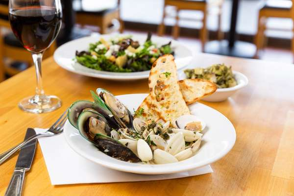 Clam and Mussels