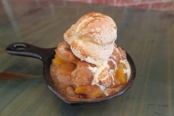 Family Peach Cobbler (feeds 4-6)