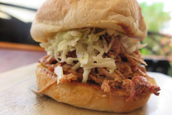 Pulled Pork Sandwich with Small Side