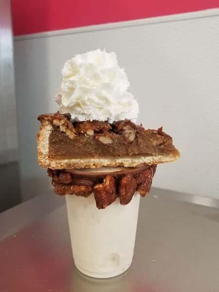 Bourbon Pecan Pie Extreme Milkshake