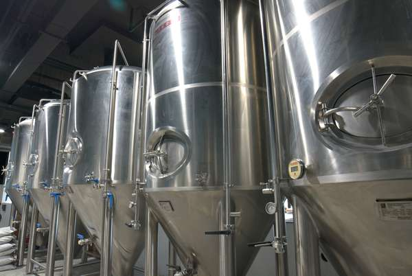 brewery vats