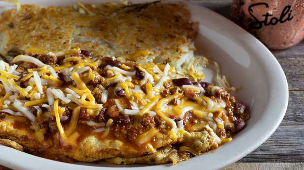 Chili Cheese Omelet