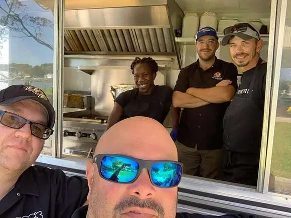 food truck employees