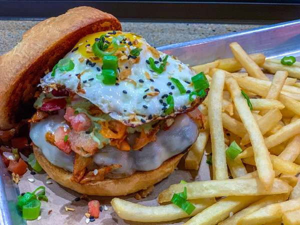 Kimchi Burger $19