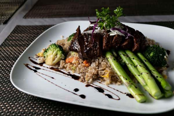 Balsamic Glazed Flank Steak
