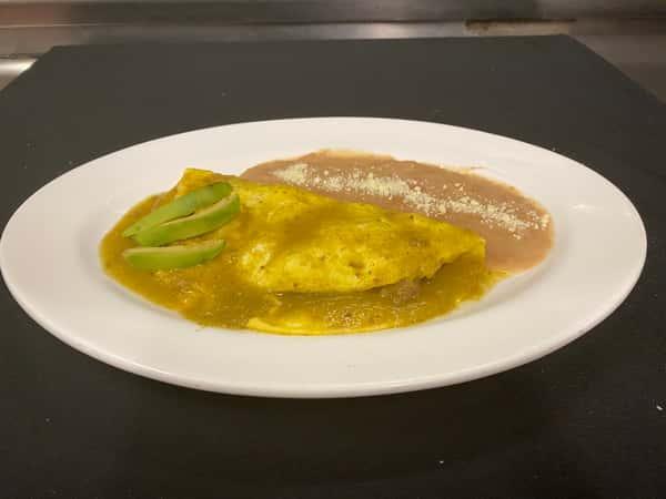 Chile Verde Omelette