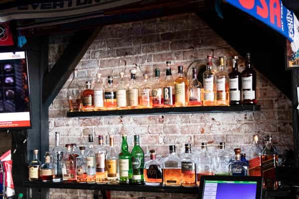bar close up