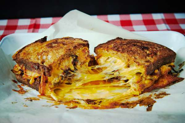 Cheesemonger Grilled cheese sandwich