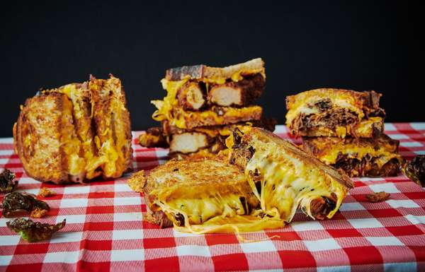 Fried Chicken, Millionaire, Cheesemonger, classy grill cheese sandwiches