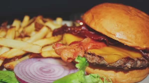 *Bacon Cheese Burger