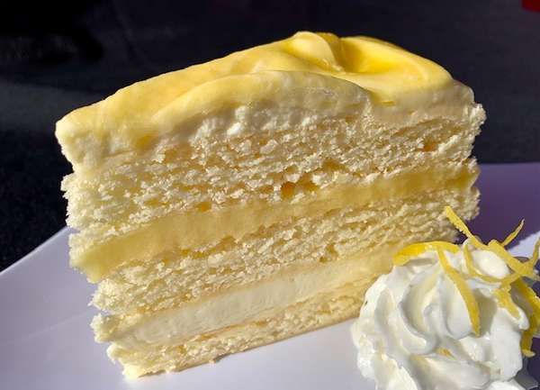 Poppies Lemon Cream Cake