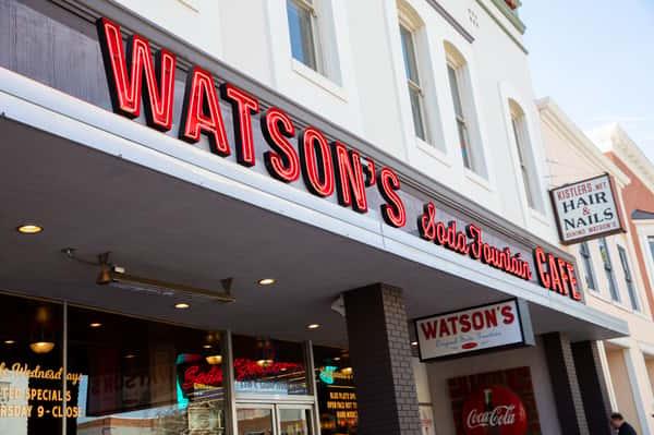 watson's exterior