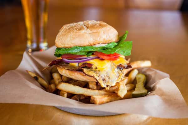 Applewood Bacon Cheeseburger