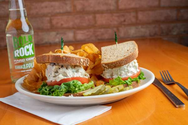 Tarragon Chicken Salad Sandwich