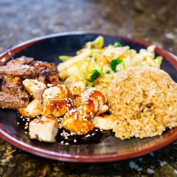 steak and chiken hibachi