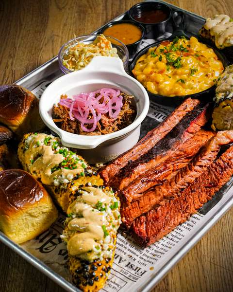 smoked meat board