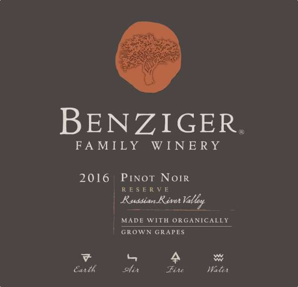 Pinot Noir - Benziger Family Winery - Reserve