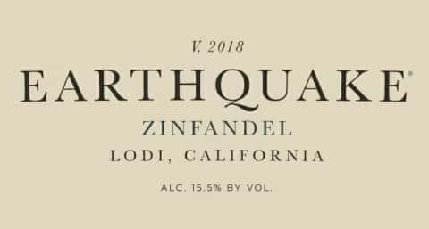 Zinfandel - Earthquake