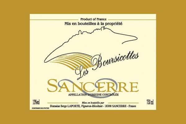 Sauvignon Blanc - Serge Laporte - Les Boursicottes Sancerre