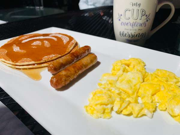 Kid's Pancake Breakfast