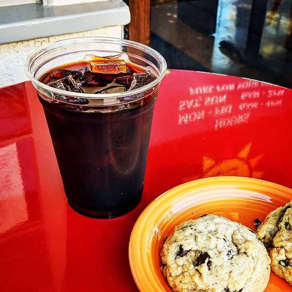cookies and housemade cold brew