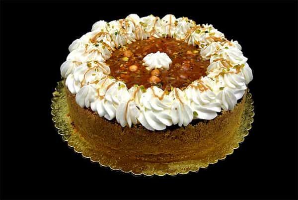 Nut Praline Cheesecake