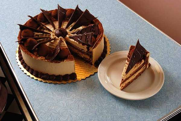 Caramel Truffle Torte