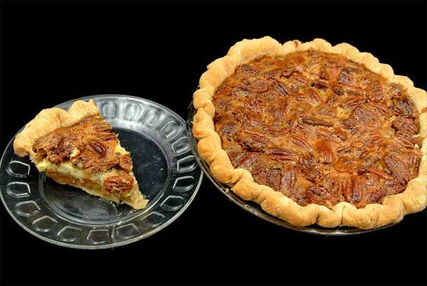 Pecan Cheese Pie