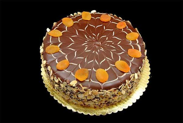 Apricot Almond Gateau