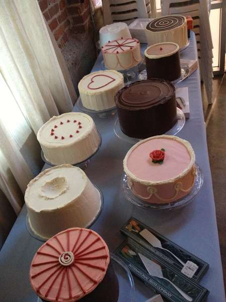 cakes on the table