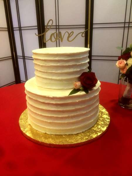 cake with love topper