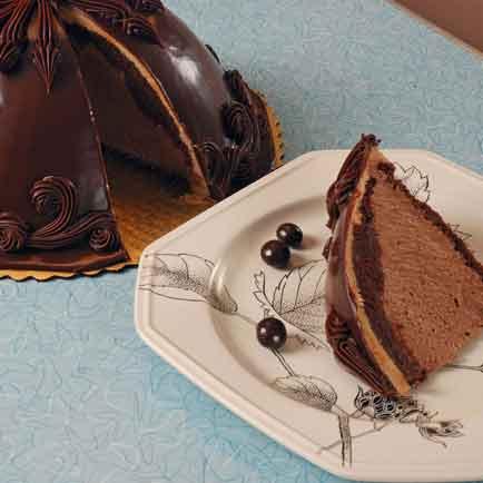 Chocolate Kahlua Bombe
