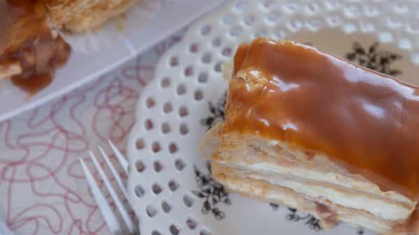 Caramel Napoleon