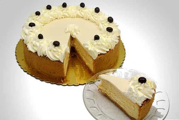 White Chocolate Bailey's Cheesecake
