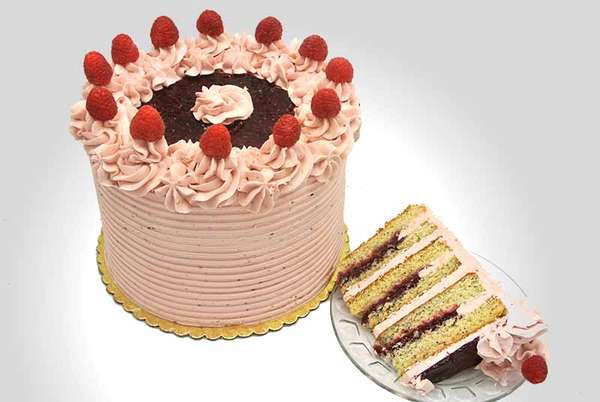 Raspberry Diva Cake