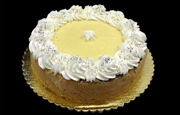 Lime Poppy Seed Cheesecake