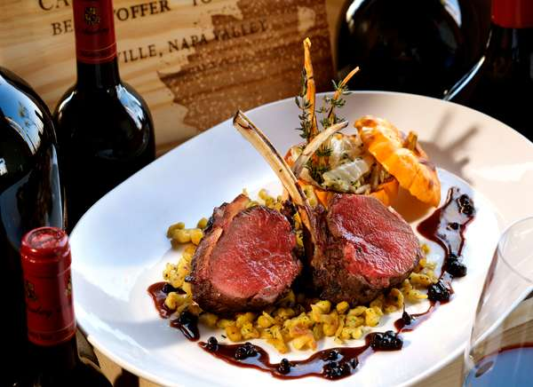 Chef YG Features a Nightly Special of Fresh Wild Game or Fowl.