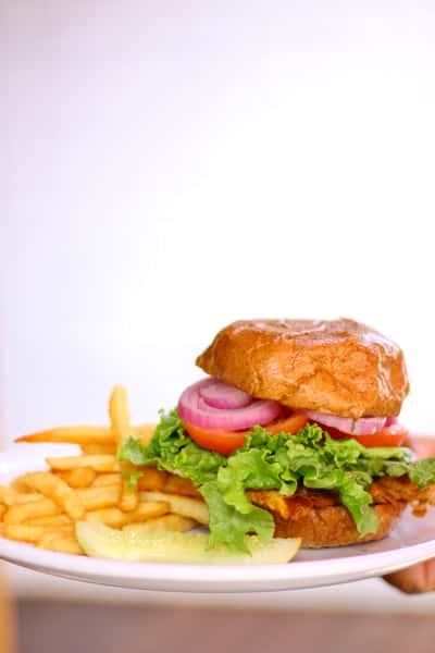 All Natural Chicken Breast Sandwich