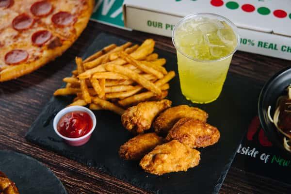 5 Wings, Fries & Drink