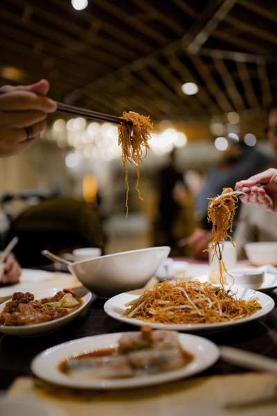 Chinese food dishes