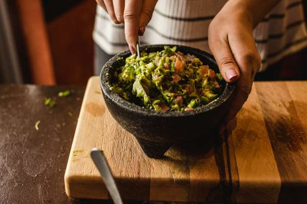 Guacamole Served Table-side
