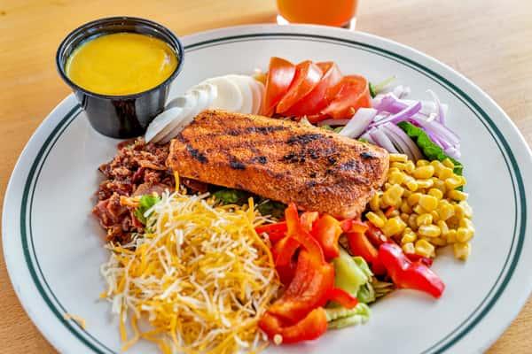 Blackened Salmon Salad*