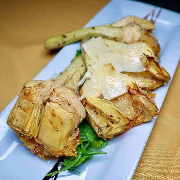Grilled Artichoke Hearts