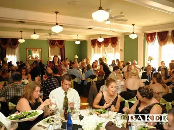 full dining area