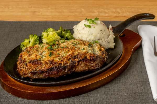 Parmesan Crusted Steak